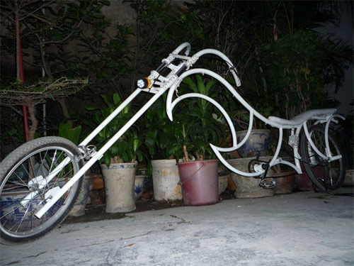 Xe đạp kiểu dáng Harley Davidson độc nhất Việt Nam - 3