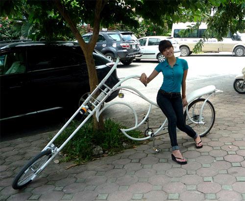 Xe đạp kiểu dáng Harley Davidson độc nhất Việt Nam - 6