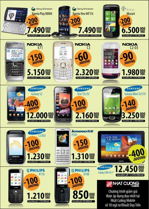 Ưu đãi hấp dẫn khi mua điện thoại di động - 2