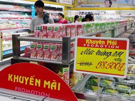 Hà Nội: Các siêu thị đồng loạt giảm giá - 1
