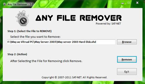 Cách đơn giản gỡ file cứng đầu - 1