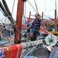 Kỹ thuật đánh bắt mới của ngư dân Đà Nẵng