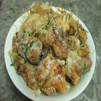 Đổi món cuối tuần với gà rang muối