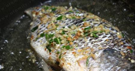 Cá rô phi chiên sả, lá chanh - 2