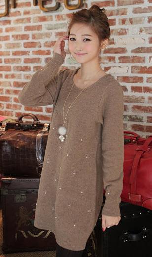 Phối đồ duyên dáng với áo len dáng dài - 6