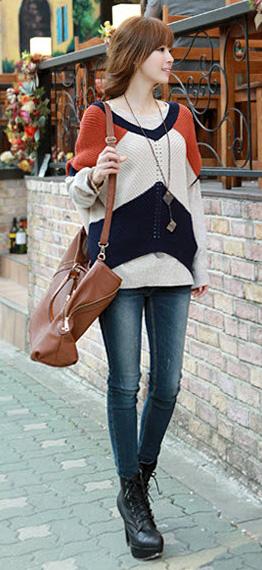Phối đồ duyên dáng với áo len dáng dài - 18