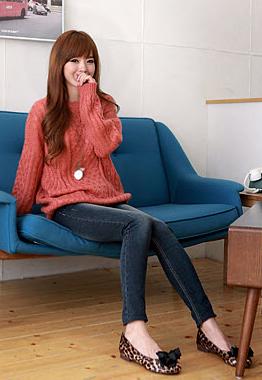 Phối đồ duyên dáng với áo len dáng dài - 15