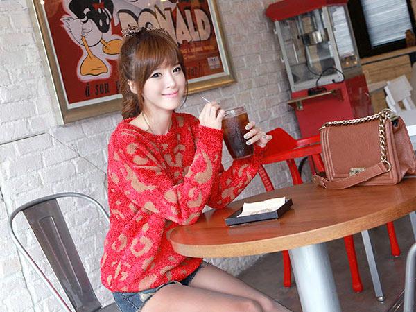 Phối đồ duyên dáng với áo len dáng dài - 19