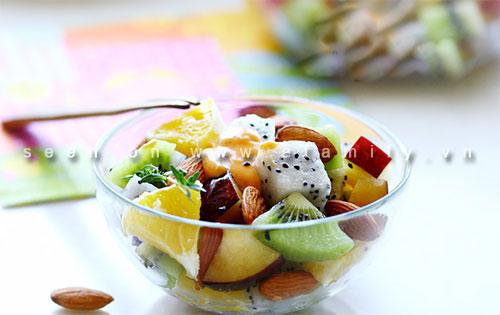Salad trái cây ngon tuyệt cho chị em - 5
