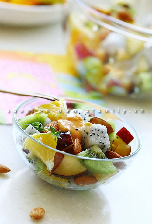 Salad trái cây ngon tuyệt cho chị em - 6