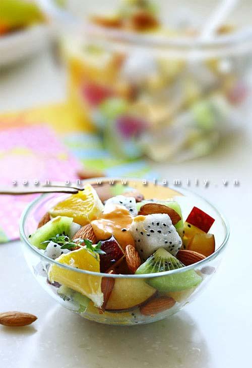 Salad trái cây ngon tuyệt cho chị em - 7
