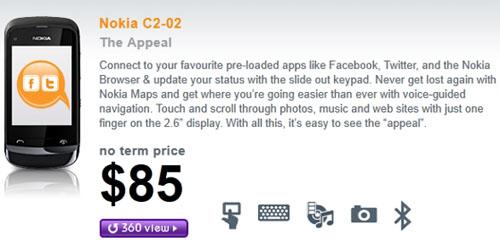 Nokia C2-02 dế giá rẻ mới - 2