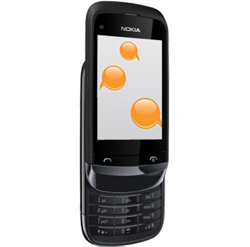 Nokia C2-02 dế giá rẻ mới - 1