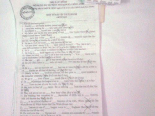 Sự thật thi tuyển công chức ở Nam Định - 1