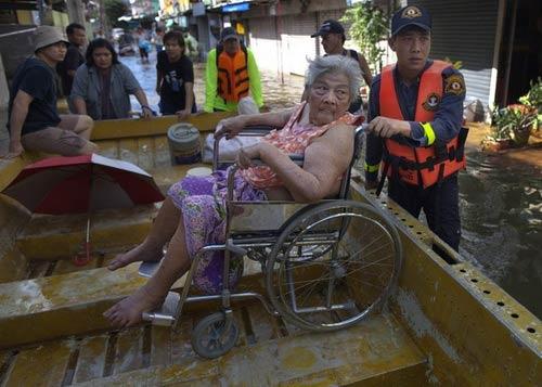 Nguy cơ lũ nhấn chìm thủ đô Thái Lan - 5
