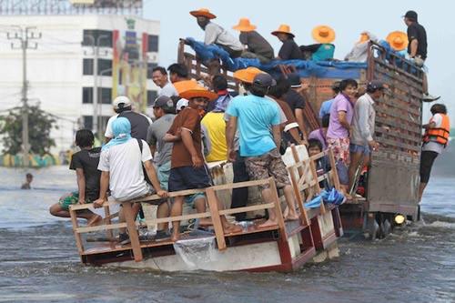 Nguy cơ lũ nhấn chìm thủ đô Thái Lan - 7