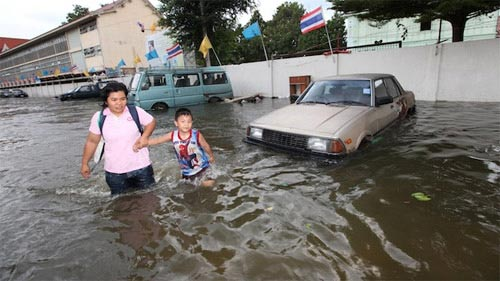 Nguy cơ lũ nhấn chìm thủ đô Thái Lan - 8