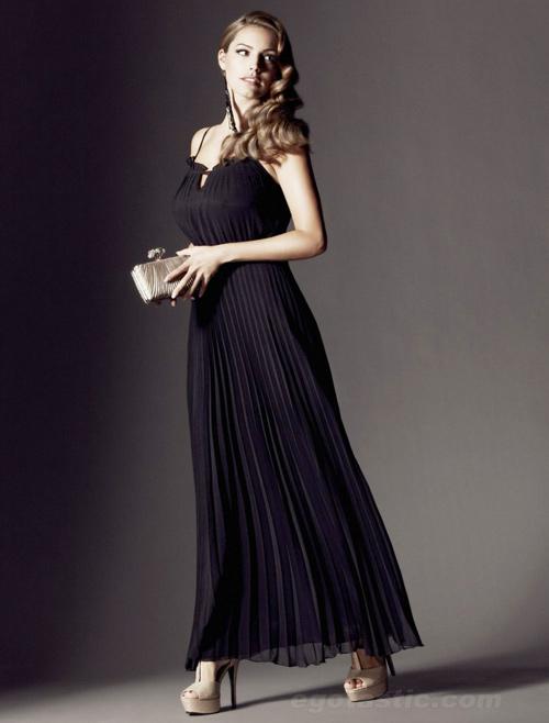 """Kiểu váy """"chuẩn mực"""" cho vòng 1 ngoại cỡ - 11"""