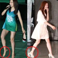 Sao nữ ngượng chín mặt vì giày cao gót