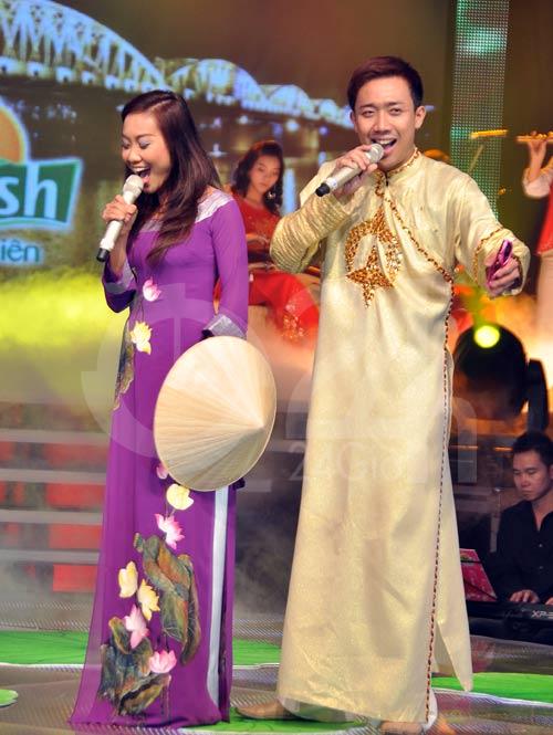 Đoan Trang hát dân ca, Trấn Thành đọc rap - 3
