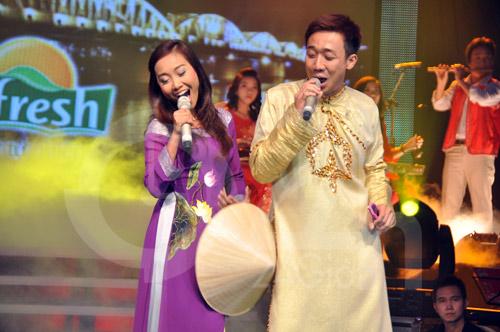 Đoan Trang hát dân ca, Trấn Thành đọc rap - 6