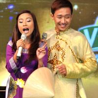 Đoan Trang hát dân ca, Trấn Thành đọc rap