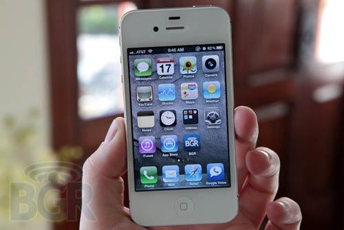 Cách khắc phục pin yếu trên iPhone 4S - 1