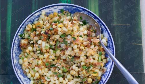 Ngô xào - Món ăn vặt khó chối từ - 11