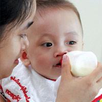 Trẻ dị ứng sữa: chậm chữa là nguy!