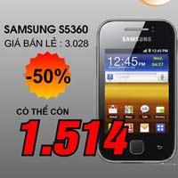 Galaxy Y giá 1,5 triệu khuấy động tháng khuyến mại