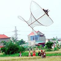 Kỷ lục Việt Nam: Chiếc diều sáo có nhiều sáo nhất