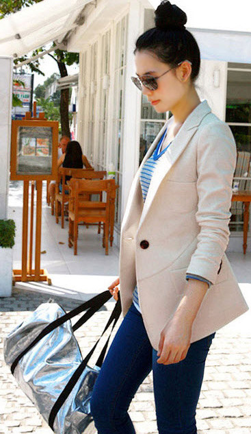 Cô gái công sở sang trọng và quyến rũ, Thời trang công sở, Thời trang, vay cong so, vest cong so