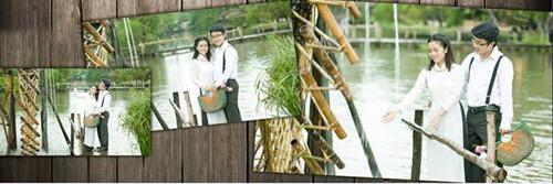 Chụp ảnh cưới ngoại cảnh miễn phí tuyệt đẹp - 6