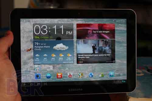 Samsung Galaxy Tab 8.9 giá 480 USD - 1