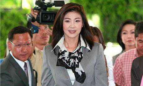 Thời trang sành điệu của Thủ tướng Thái - 3
