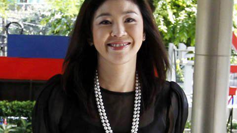 Thời trang sành điệu của Thủ tướng Thái - 1