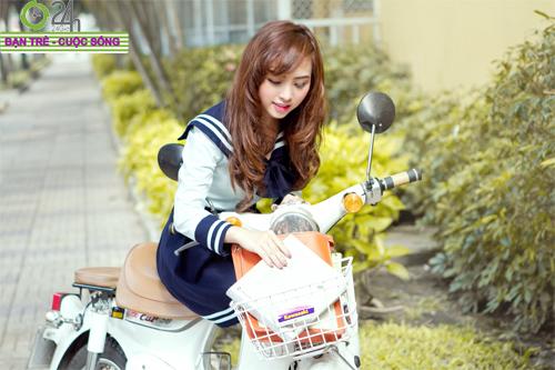 Hot girl Nana xinh tươi tuổi học trò - 2