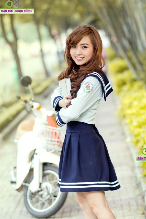 Hot girl Nana xinh tươi tuổi học trò - 10