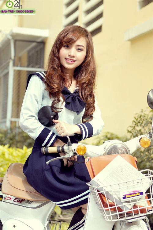 Hot girl Nana xinh tươi tuổi học trò - 3