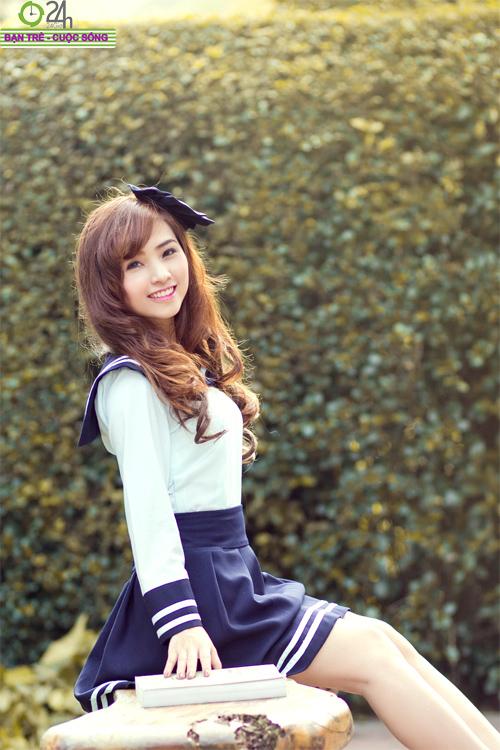 Hot girl Nana xinh tươi tuổi học trò - 16