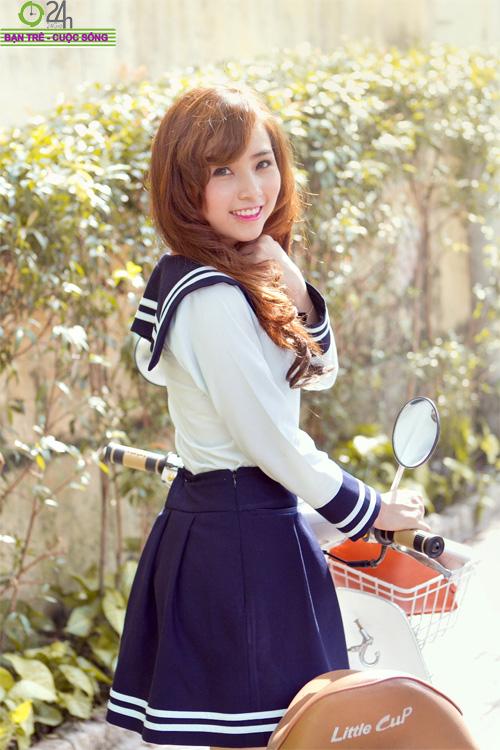 Hot girl Nana xinh tươi tuổi học trò - 4