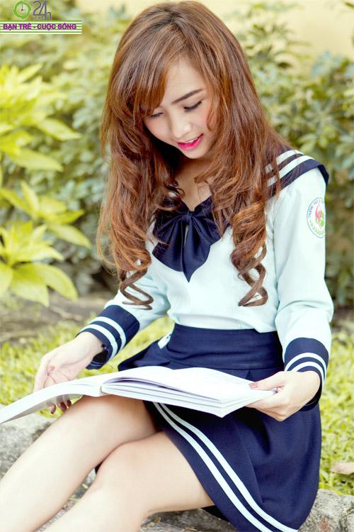 Hot girl Nana xinh tươi tuổi học trò - 6