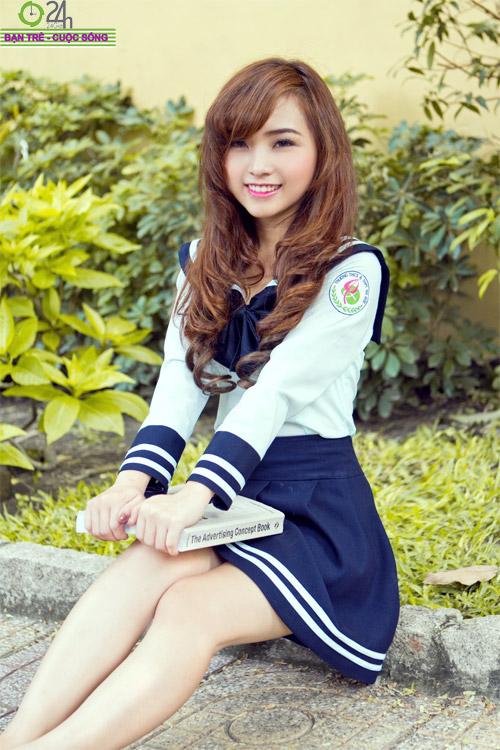 Hot girl Nana xinh tươi tuổi học trò - 7