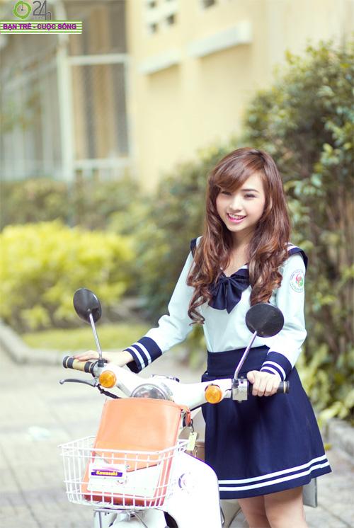 Hot girl Nana xinh tươi tuổi học trò - 9