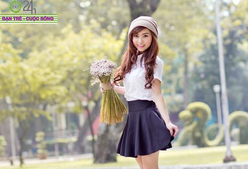 Hot girl Nana xinh tươi tuổi học trò - 18
