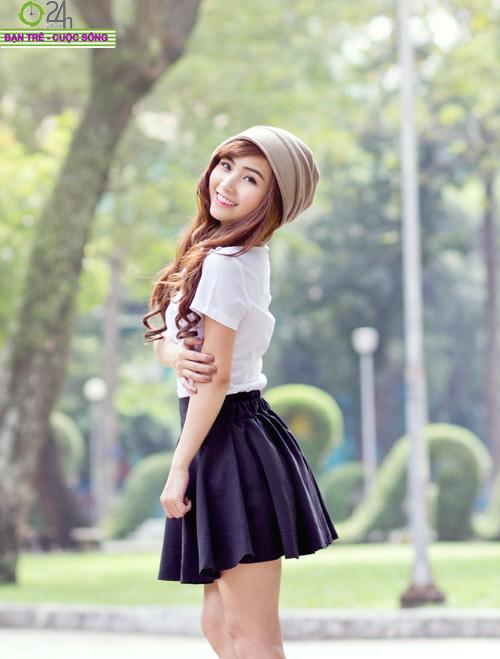Hot girl Nana xinh tươi tuổi học trò - 19
