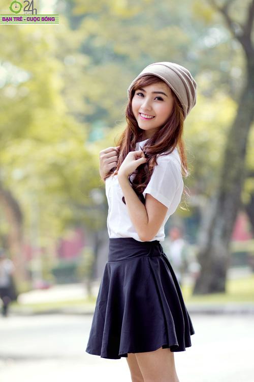 Hot girl Nana xinh tươi tuổi học trò - 20