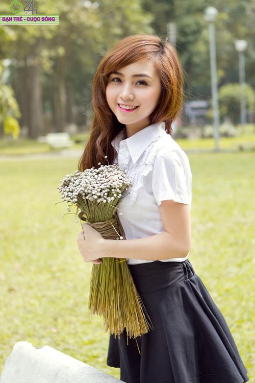 Hot girl Nana xinh tươi tuổi học trò - 21