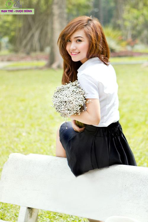Hot girl Nana xinh tươi tuổi học trò - 22