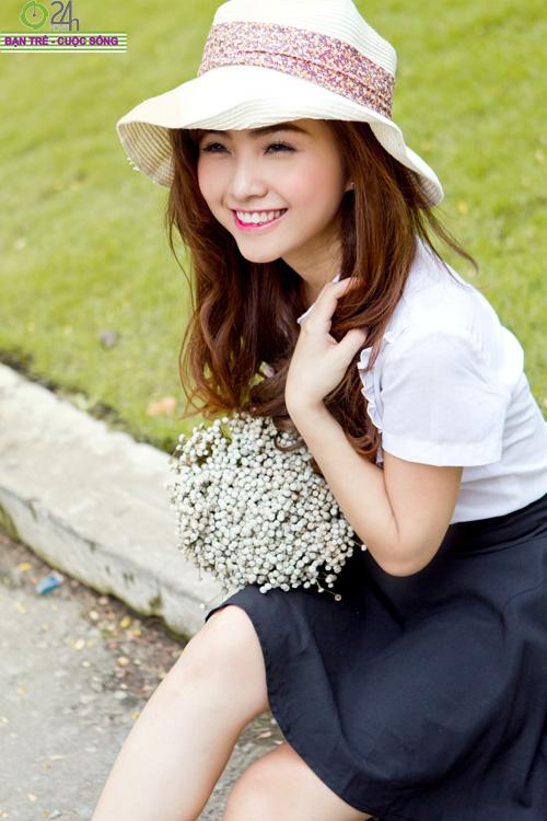 Hot girl Nana xinh tươi tuổi học trò - 1